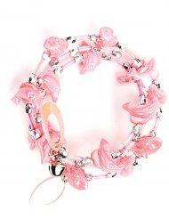 Bracelet dauphin rose enfant