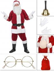 Pack déguisement Père Noël luxe