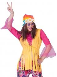 Bandana hippie à fleurs adulte