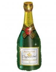 Ballon aluminium bouteille de champagne 94 cm