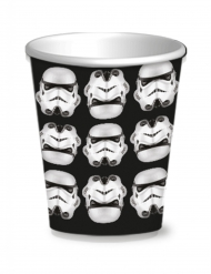 8 Gobelets Stormtroopers™ 25 cl