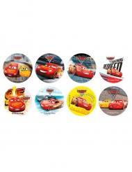 16 Mini disques en sucre Cars 3™ 3,4 cm