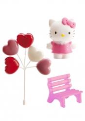 Kit de décoration pour gâteau Hello Kitty ™ 6,5 cm