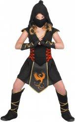 Déguisement ninja robe fille