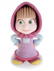 Figurine en sucre Masha et Michka™ Masha 2,4 x 5 x 2,5 cm