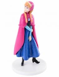 Figurine en plastique La Reine des Neiges ™ Anna 8 cm