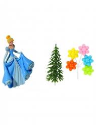 4 accessoires pour gâteau Princesses Disney ™ Cendrillon 10 x 20,5 x 5 cm