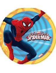 Disque en azyme Ultimate Spiderman ™ 14,5 cm