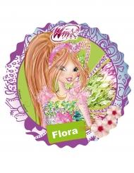 Disque azyme Winx ™ Flora 21 cm