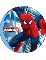 Disque en azyme Ultimate Spiderman ™ en action 21 cm