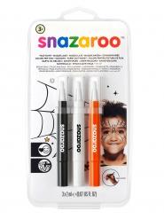 Set de stylos pinceaux Halloween Snazaroo™