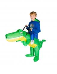 Déguisement crocodile gonflable enfant
