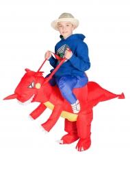 Déguisement dragon gonflable enfant
