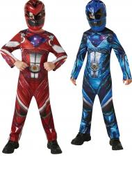 Pack déguisements Power Rangers™ rouge et bleu enfant