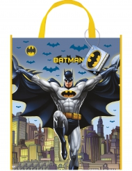 Sac cadeaux en plastique Batman™ 33 x 28 cm