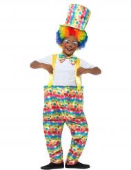 Déguisement clown farçeur garçon