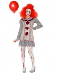 Déguisement clown vintage femme