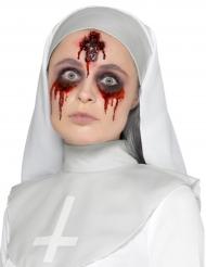 Fausse plaie crucifix ensanglanté adulte