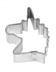 Emporte pièce Licorne en acier 4,4 cm