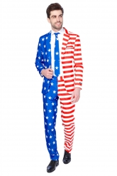 Costume Mr. USA Flag homme Suitmeister™