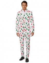 Costume Mr. Merry Xmas blanc homme Suitmeister™