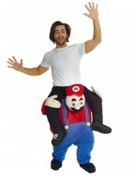 Déguisement homme porté par Plombier rouge adulte Morphsuits™