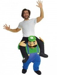 Déguisement homme porté par Plombier vert adulte Morphsuits™