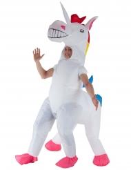 Déguisement gonflable Licorne géante adulte Morphsuits™