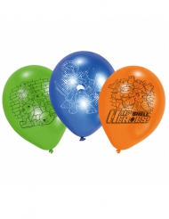 6 Ballons en latex Tortues Ninja™ 70 cm