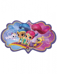 Ballon en aluminium Shimmer and Shine™ 68 x 40 cm