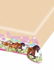 Nappe en plastique Charming Horses 120 x 180 cm
