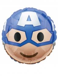 Ballon aluminium Captain America ™ Emoji ™ 43 cm