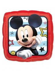 Ballon carré aluminium Mickey™ 40 x 40 cm