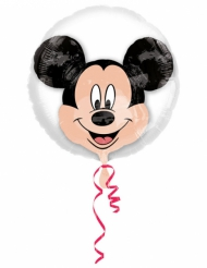 Ballon aluminium double bubble tête de Mickey™ 60 x 60 cm