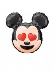 Petit ballon aluminium tête de Mickey Emoji™ 22 cm