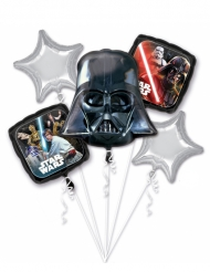 Bouquet de 5 Ballons aluminium Star Wars™