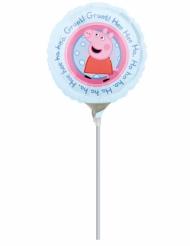 Petit ballon aluminium Peppa Pig™ 23 cm