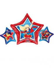 Petit Ballon étoile aluminium DC Super Hero Girls™ 22 X 43 cm