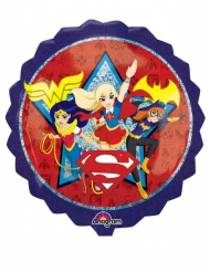 Ballon aluminium DC Super Hero Girls™ 71 x 71 cm
