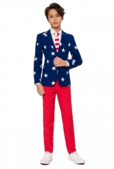 Costume Mr. USA adolescent Opposuits™