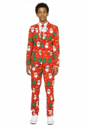 Costume Mr. Holiday hero adolescent Opposuits™