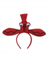 Serre-tête Homard rouge