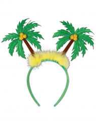 Serre-tête Palmiers verts adulte