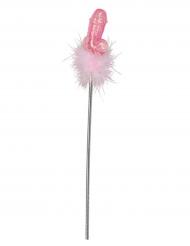 Baguette zizi magique rose 47 cm