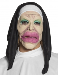 Masque latex humoristique religieuse adulte