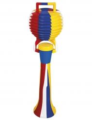 Klaxon clown multicolore 50 cm