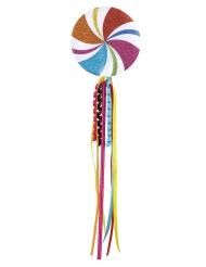 Sucette colorée 45 cm