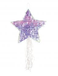 Piñata Etoile irisée 45 cm