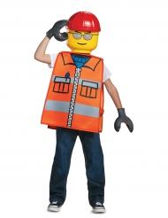 Déguisement ouvrier de chantier LEGO® enfant