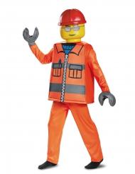 Déguisement luxe ouvrier de chantier LEGO® enfant